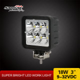 "18W 3"" Offroad Light Us CREE LED Work Light"