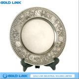 Blank Logo Metal Souvenir Plate Custom Sports Metal Crafts