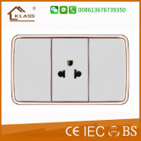 Top Quality 3pin Thailand Electric Socket Made in China