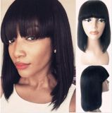Full Lace Front Human Hair Wigs Natural Straight