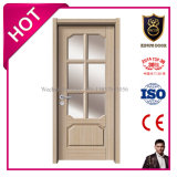 Solid MDF Glass Swing Doors for Internal