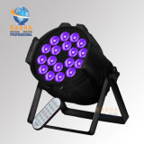 Rasha High Quality Hex Lion Cast Aluminum 18*18W 6in1 Rgbaw UV LED PAR Light with Wireless IR Remote for Event Party with Powercon