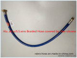 Aluminum Wire Knitted Hose with Surface Silicone/Plastic - Covered Hose/Braided Hose