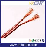 High Quality Transparent PVC Speaker Cable