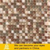 Stone Mix Glass Mosaic Tile Creamy Marfil 03