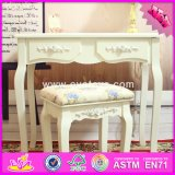 2017 Wholesale Wooden Table and Chair Set, Solid Wooden Table and Chairs, Bedroom Furniture Wooden Table and Chair Set W08g191