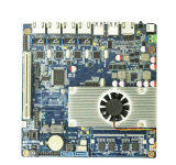 4 1000m LAN Port Network Motherboard with Atom D2550 Processor