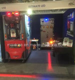 Equipping Brauer Forklifts with Red Zone Warning Light