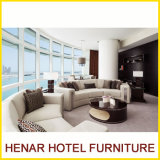 2016 Latest Design Deluxe 5 Seater Half Moon Modern Sectional Sofa
