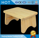 Lacquer Coating Home Decorations Solid Wood Children Stools
