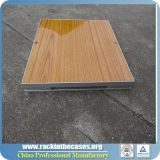 Wood Grain PVC Dance Floor for Sale (RKWL-PFP462)