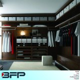 Wooden Walk in Wardrobe Bedroom Furniture Customized