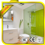 High Quality Float Glass Shower Enclosure Colorful with Ce/CCC/SGS/ISO