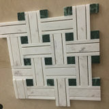 Building Material Mixed Color Natural Marble Stone Mosaic Floor Tile