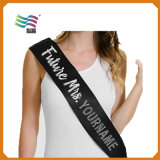 Wedding Party Satin Sash Custom Printing
