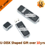 Hot Businss Gifts Leather USB Flash (YT-5106)