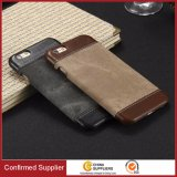 Trending Retro PU Leather Ultrathin Back Cover Case for iPhone