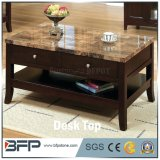 Hot Sale Modern Executive Desk with Marble Finish Top