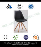 Hzpc130 Black Plastic Chair Fixed Foot - Contains The Cushion