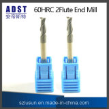Hot Sale 60HRC 2flute Tungsten Carbide End Mill Cutting Tool