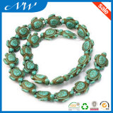 Fashion Turtle Howlite Turquoise Stone Beads