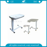 AG-Obt013 with One Drawer Turnable ABS Overbed Tables