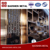 Customized Modern Room Decoration Partition Divider Screen Stainless Steel Direct From Manufacturer