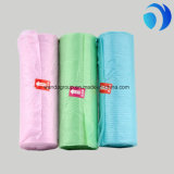 Garbage Clear Color Plastic Flat Bags on Roll