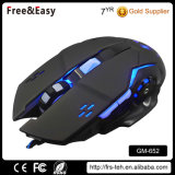 Wired Type and LED Light Backlit Gaming Style Mouse