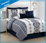 Urban Design Patchwork Style Microsuede Comforter Set