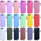 1.4mm Solid Candy Color Soft TPU Phone Case for iPhone6/7