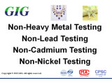 Jewelry Lead Cadmium Nickel Release Test Service