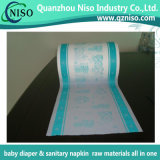Soft Breathable Printing PE Film for Diaper Raw Materials with Ce (PF-011)