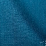 Mixed Wool Fabric for Trousers or Skirt in Deep Blue