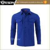 Wholesale Winter Thermal Solid Thickness Fleece Shirt