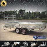 8X7 Tandem Axle Flatbed Trailer (SWT-FTT87)