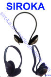 High Quality Sponge Mobile Headphone Earphone with Stereo Sound