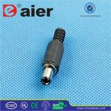 2.1mm/2.5mm * 5.5mm Stereo Male DC Plug