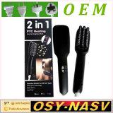 2016 High Quality 2 in 1 Ionic Hair Straightener Brush