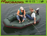 Inflatable Fishing Boat with Bench Seat, Rubber Boat for Fishing