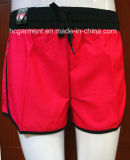Lady′s Solid Color Board Surf Shorts Swimwear Beachwear