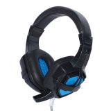 Professional Gaming Headset with LED Light for Internet Shop