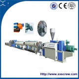 Double Screw Extruder PVC Twin Pipe Production Line