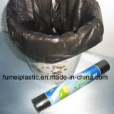 Cheap Price Recycled Material Black PE Garbage Bag