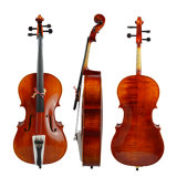 Professional Natural Flame Handmade Cello Made in China