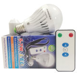 4W 7W Rechargeable LED Emergency Bulb Light with E27 Base