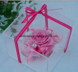 Square Acrylic Wedding Flower Display Stand