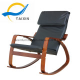 Popular Sleeping Furniture Wooden Rocking Chair with 100% Cotton