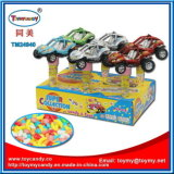 Pull Back Plastic Car Toy with Candy Tube