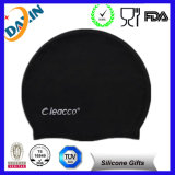 Customized Printed Soft Silicone Ear Swimming Cap